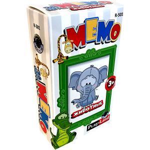 Карточная игра  Мемо Животные Play Land