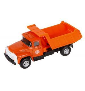 Самосвал  цвет: оранжевый 12 см Автопанорама