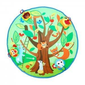 Игровой коврик  Кто живет в лесу 80х80 см Крошка Я