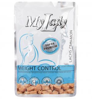 Влажный корм Dr.Alders для взрослых кошек Контроль веса, ассорти из мяса, 85г Dr.Alder's