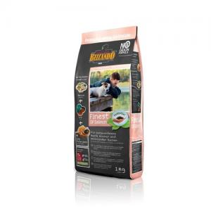 Сухой корм  Grain-free для взрослых собак мелких и средних пород Гипоаллергенный, лосось, 1кг Belcando