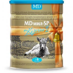 Молочная смесь  Козочка 2 с 6 месяцев, 800 г MD Мил