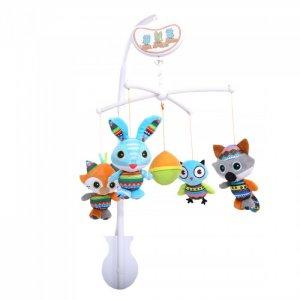 Мобиль  музыкальный Друзья 65x33x33 см Biba Toys