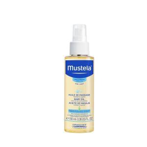 Масло массажное для новорожденных детей Mustela