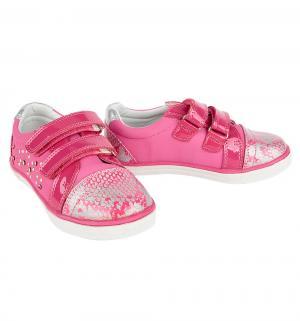 Полуботинки , цвет: розовый Bi&Ki