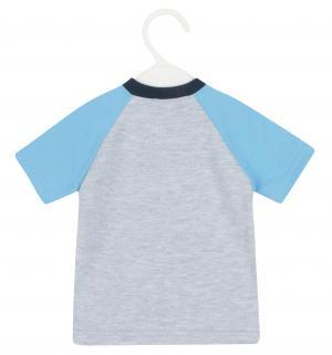 Комплект футболка/шорты  Smile, цвет: серый Aga