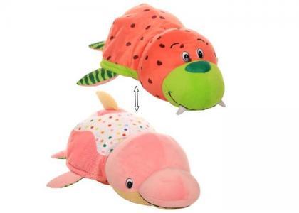 Мягкая игрушка  Вывернушка Морж и Дельфин с ароматом 35 см 1 Toy