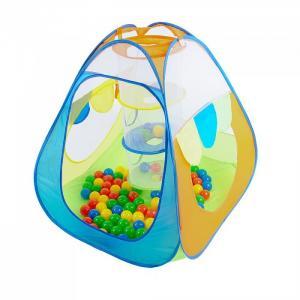 Палатка-домик с корзиной + 100 шаров Конус Calida