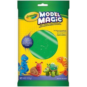 Застывающий пластилин  Model Magic, зеленый 113 гр Crayola