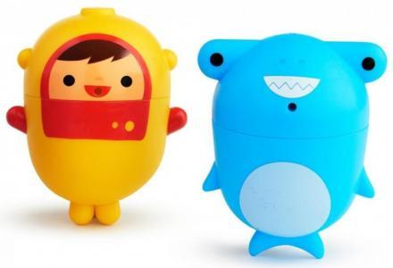 Игрушки для ванны Дайвер и Акула Munchkin
