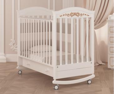 Детская кроватка  Даниэль люкс (качалка) Гандылян