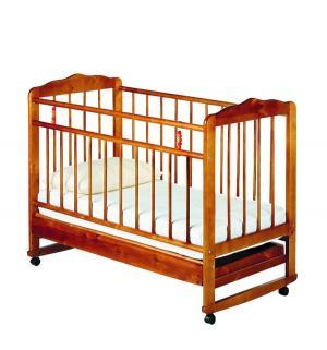 Кровать-качалка  Женечка-4, цвет: вишня ИП Смирнов