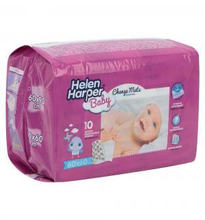 Простыни гигиенические  Детские 60х60 см, 10 шт, цвет: белый Helen Harper