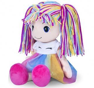 Кукла Стильняшка радуга 40 см Maxitoys