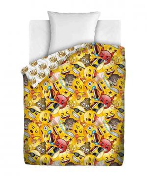 Покрывало Непоседа Emoji Смайлы 145х200 Angry Birds