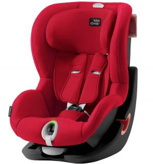 Автокресло  King II LS Black Series, цвет: fire red Britax Romer