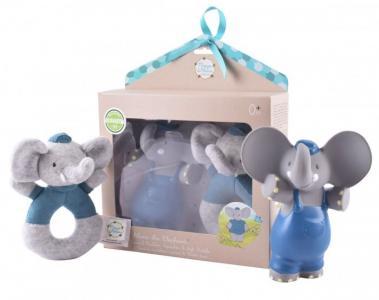 Мягкая игрушка  Подарочный набор Слоник Alvin пищалка и MaiyaandAlvin