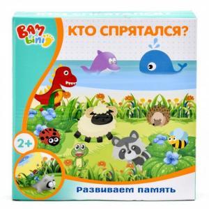 Настольная игра Развиваем память Кто спрятался? Bambini