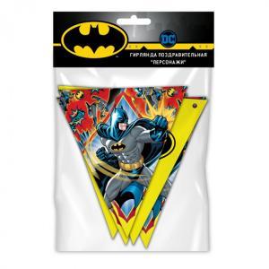Гирлянда-флажки  Персонажи Batman