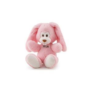 Мягкая игрушка  Заяц Вирджилио, 26 см Trudi. Цвет: розовый