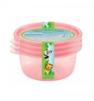 Комплект контейнеров  для продуктов Пластишка