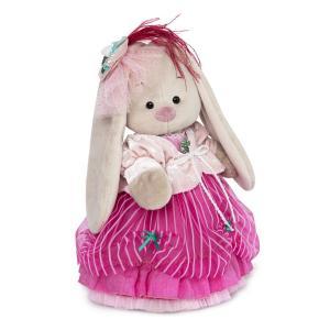 Мягкая игрушка  Барышни и кавалер Зайка Ми барышня в карамельно-розовом 25 см Budi Basa