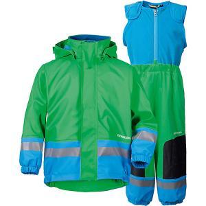 Комплект: куртка и полукомбинезон BOARDMAN DIDRIKSONS1913. Цвет: бирюзовый