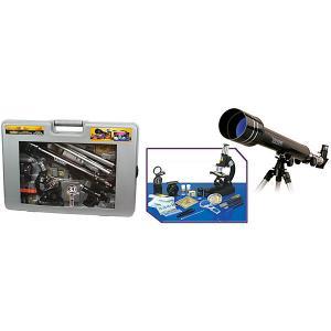 Телескоп и микроскоп , в подарочном кейсе Eastcolight