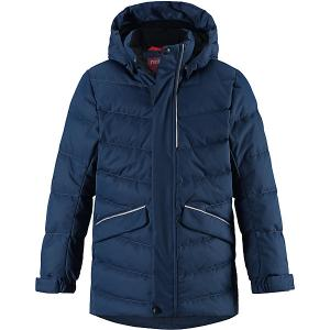 Куртка Janne  для мальчика Reima. Цвет: темно-синий