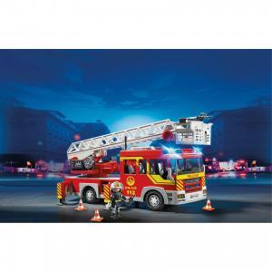 Пожарная машина с лестницей со светом и звуком, PLAYMOBIL PLAYMOBIL®
