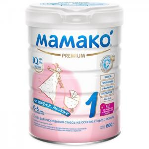 1 Молочная смесь на основе козьего молока 800 г Мамако