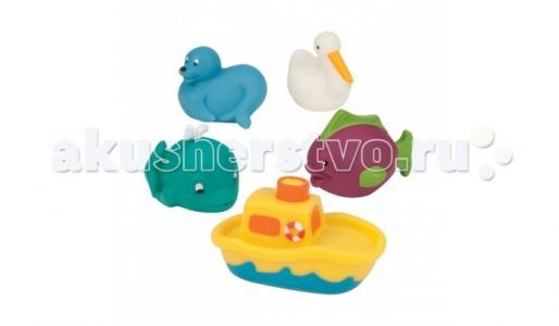 Игрушки для ванны Морские животные Battat