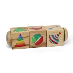 Деревянные кубики  Обобщение, 14 см Десятое Королевство