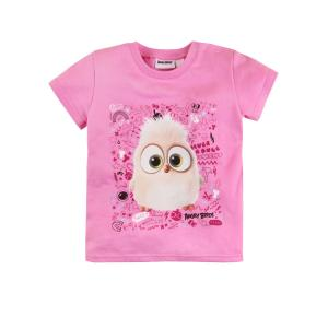Футболка  Angry Birds, цвет: розовый Bossa Nova
