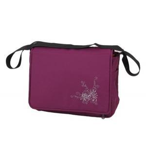 Сумка для мамы  Алиса, цвет: фиолетовый Лео