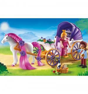 Конструктор  Замок Принцессы Королевская чета с каретой Playmobil