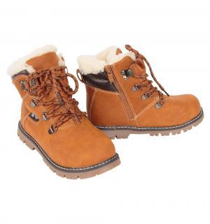 Ботинки , цвет: коричневый Счастливый Ребенок