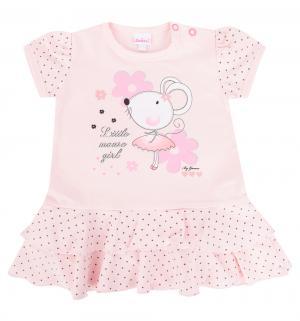 Платье  Little mouse, цвет: розовый Gamex