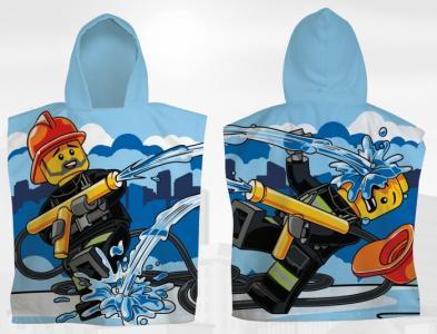 Пончо City Firehose 50х55 см Lego