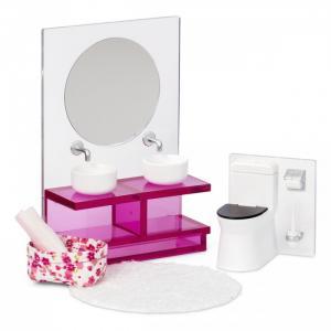 Набор мебели для домика Ванна комната Lundby