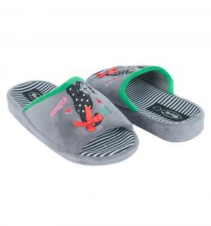 Тапочки , цвет: серый Forio