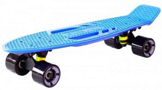 Скейтборд Skateboard Fishbone с ручкой 22 Y-Scoo