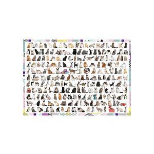 Пазл Treft 208 кошек, 1000 элементов Trefl