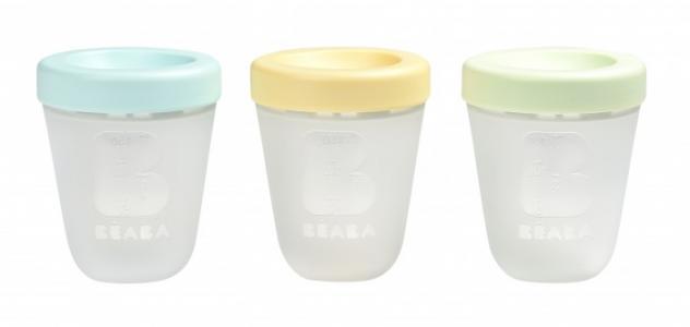 Набор силиконовых контейнеров 3 шт. Beaba