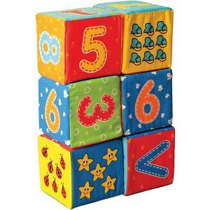 Первые кубики для малышей Цифры Macik