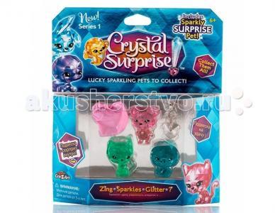 Игровой набор 4 фигурки Crystal Surprise