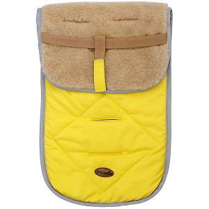 Матрасик двухсторонний в коляску , желтый Mammie. Цвет: желтый
