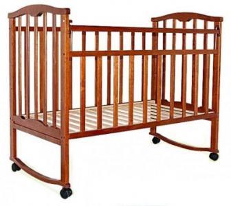Кровать-качалка  Золушка 1, цвет: вишня Агат