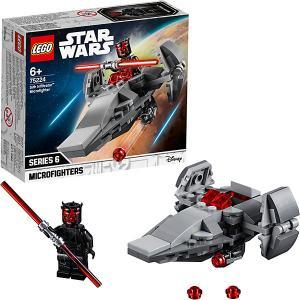 Конструктор  Star Wars 75224: Микрофайтеры: Корабль-лазутчик ситхов LEGO