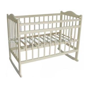 Детская кроватка  Мой малыш 1 колесо-качалка Ивашка
